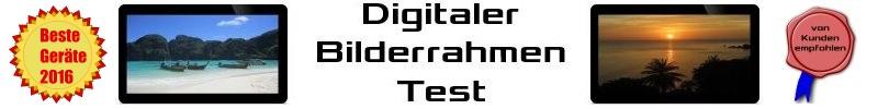 Digitaler Bilderrahmen Test